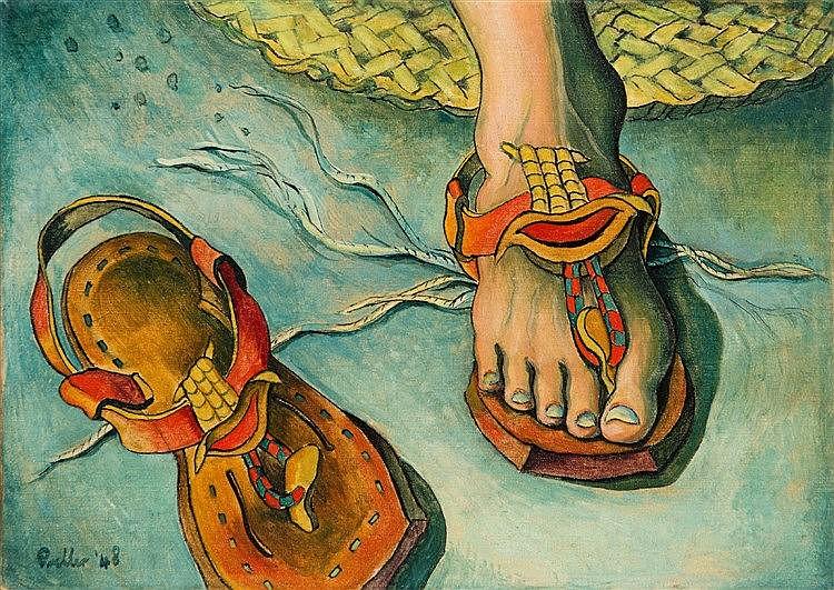 Alexis Preller - Archaic Sandals