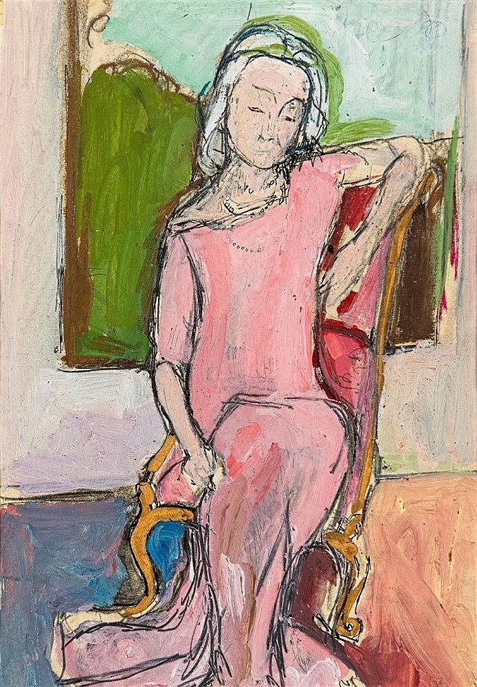 Wolf Kibel - Portrait of Lady Charlotte Bonham