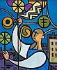 Nurullah Berk - Man at the Window, Nurullah Berk, R0