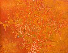 Eugene Labuschagne - Abstract in Orange
