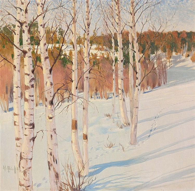 Helmi Ahlman Biese - Winter Forest