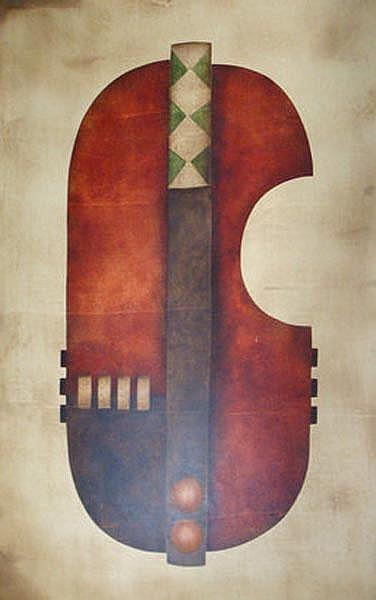 Hannes Harrs South African 1927-2006 Abstract