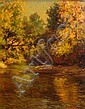Edward Roworth South African 1880-1964 Autumn's, Edward Roworth, Click for value