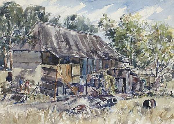 Durant Basi Sihlali South African 1935-2004 A