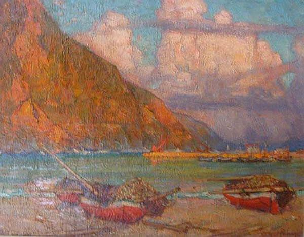 Alfred Palmer South African 1877-1951 Hout Bay