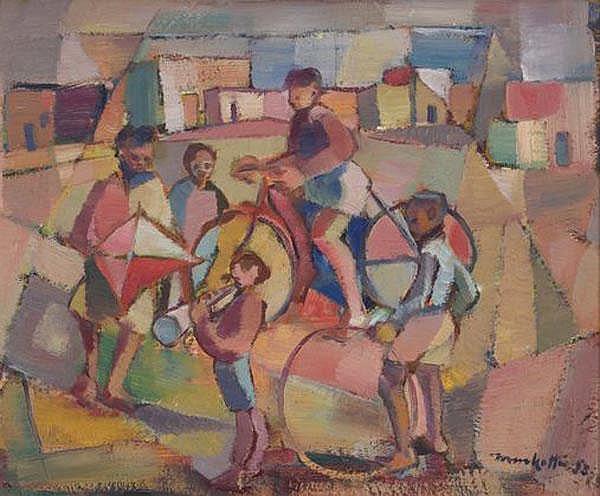 Dirk Adriaan Meerkotter South African 1922-