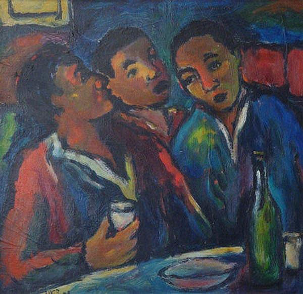 Kenneth Baker South African 1931-1995 Three