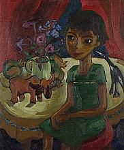 Iris AMPENBERGER South African 1916-1981 Seated
