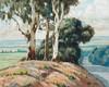 Sydney Carter Landscape with Trees on a Hill, Sydney Carter, R0