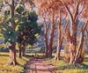 Sydney Carter Farm Entrance through Trees, Sydney Carter, R0