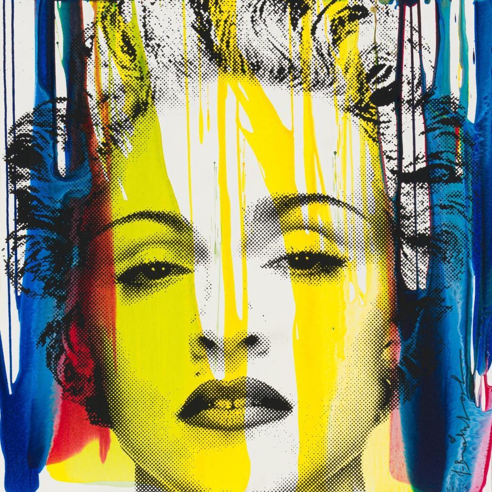 Mr Brainwash; French 1966-; Happy Birthday Madonna
