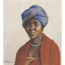 Constance Helen Greaves; British 1882-1966; Nosanbe