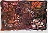 David Koloane Absatrct Composition, Koloane David Nthubu , Click for value