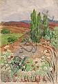 Edith Luise Mary King - A Cosmos Landscape, Bonnefoi