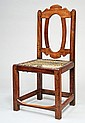 A Cape stinkwood Tulbagh side chair, first half 18th century