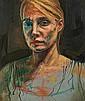 Lionel Smit  Portrait of a Woman, Lionel Smit, Click for value