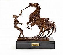 Danie de Jager - Die Agterryer (The Horse-Minder)
