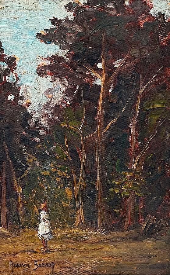 Willem Hendrik Adriaan Boshoff, Girl in White Dres