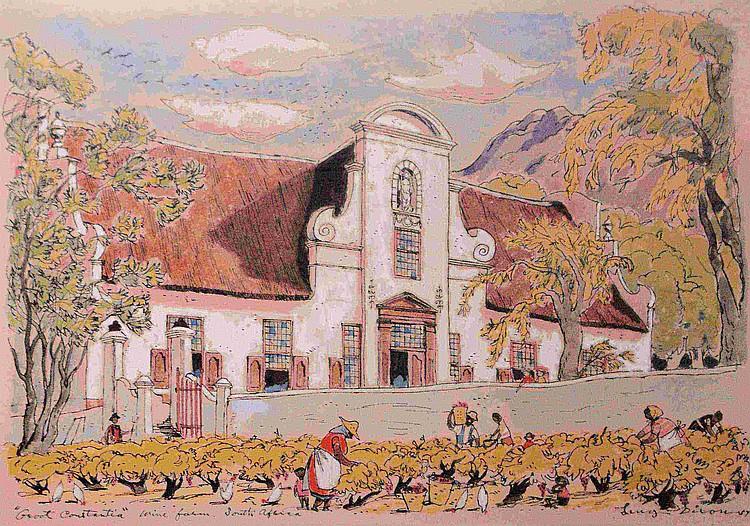 Leng DIXON South African 1916-1968 Groot