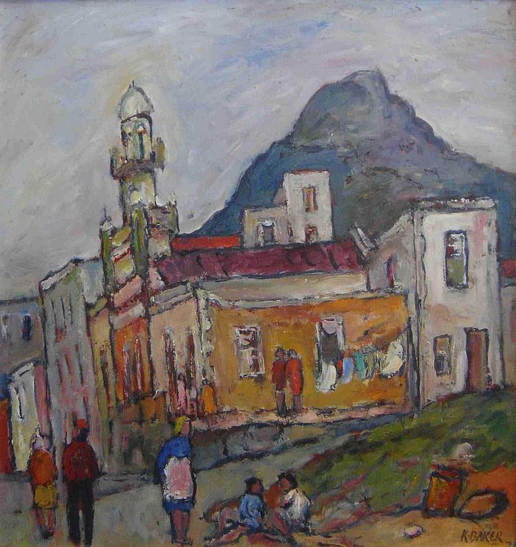 Kenneth BAKER South African 1931-1995 Bo-Kaap