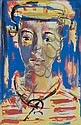 Gerard SEKOTO South African 1913-1993 Head of a, Gerard Sekoto, Click for value
