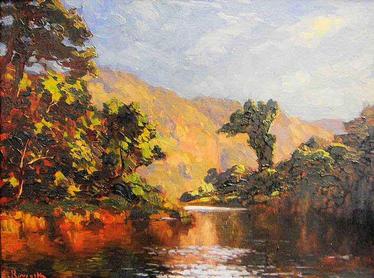 Edward ROWORTH South African 1880-1964 Keurbooms
