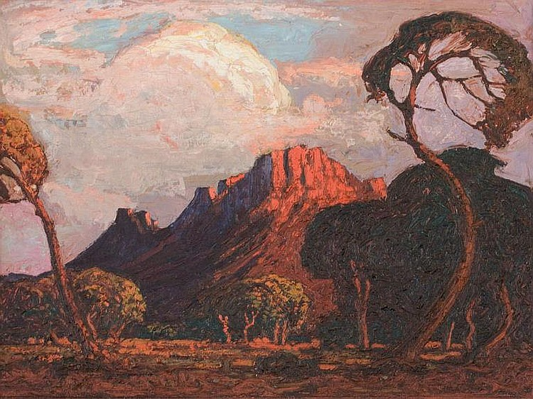 Jacob Hendrik PIERNEEF South African 1886-1957 An