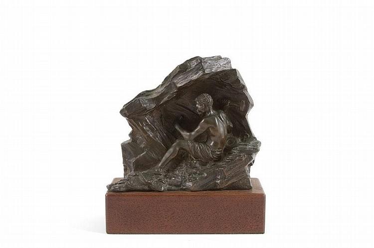 Anton VAN WOUW South African 1862-1945 The Miner