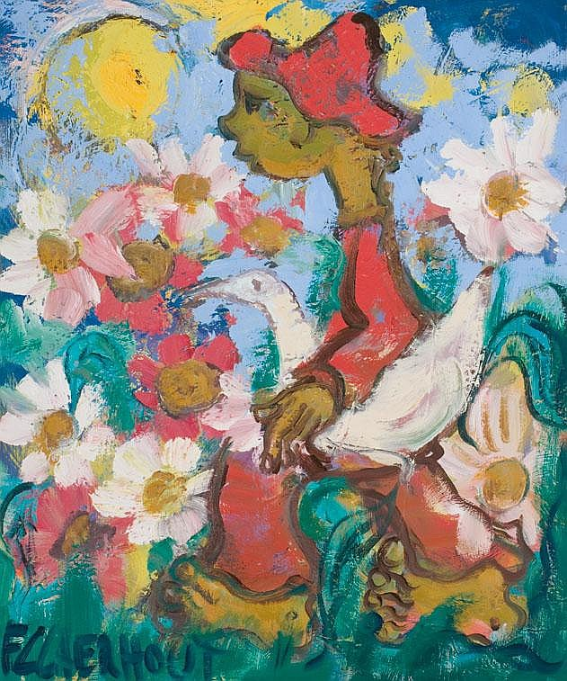 Frans Martin CLAERHOUT South African 1919-2006