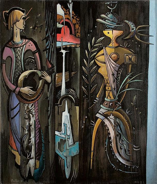 Alexis PRELLER South African 1911-1975 Primavera