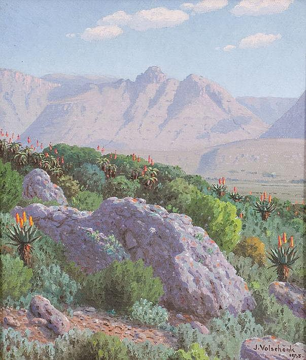 Jan Ernst Abraham VOLSCHENK South African