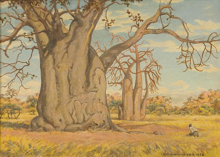 Ernst Karl Erich MAYER South African 1876-1960 An