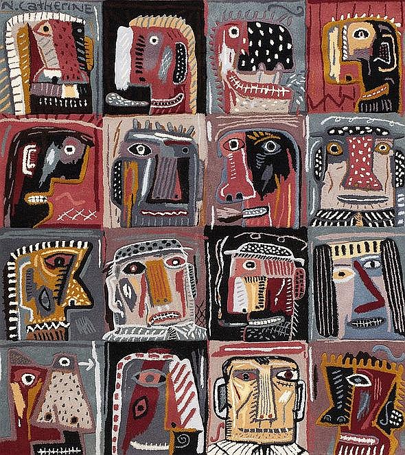 Norman Clive CATHERINE South African 1949- Sixteen