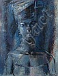 Gerard SEKOTO South African 1913-1993 Blue, Gerard Sekoto, Click for value