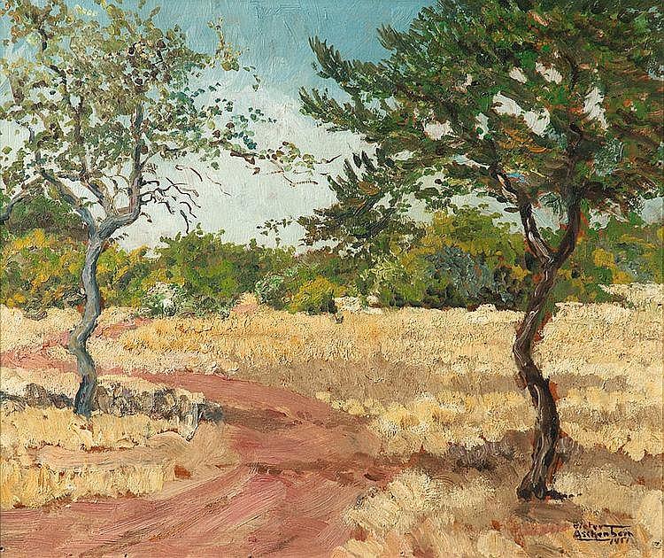 Dieter ASCHENBORN South African 1915- Landscape