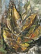 Cecil HIGGS South African 1898-1986 Leaves signed, Cecil Higgs, Click for value