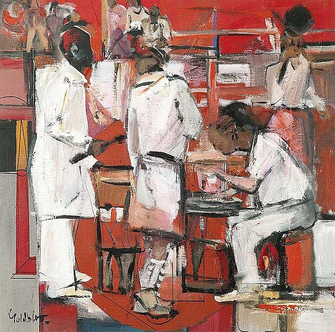 Sidney GOLDBLATT South African 1919-1979 The
