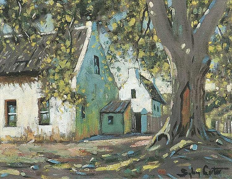 Sydney CARTER South African 1874-1945 Cape Houses