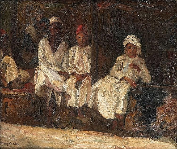 Frans David OERDER South African 1867-1944 Three