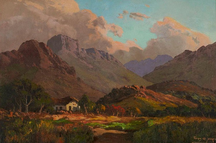 Tinus (Marthinus Johannes)de Jongh SOUTH AFRICAN