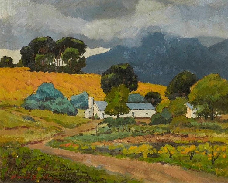 David Johannes Botha SOUTH AFRICAN 1921-1995 A