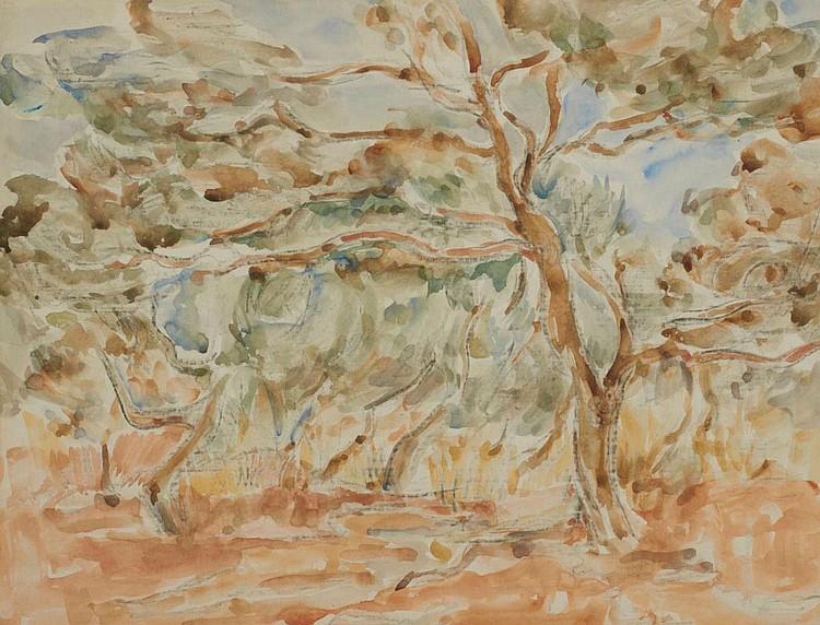Wolf Kibel SOUTH AFRICAN 1903-1938 Tree