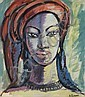 Gerard Sekoto SOUTH AFRICAN 1913-1993 Portrait of, Gerard Sekoto, Click for value