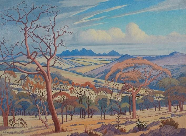 Jacob Hendrik Pierneef SOUTH AFRICAN 1886-1957