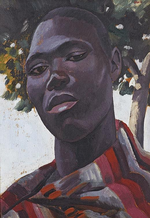 Alfred Neville Lewis SOUTH AFRICAN 1895-1972 Head