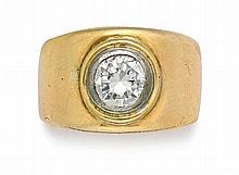 Single-stone diamond ring, Kurt Jobst