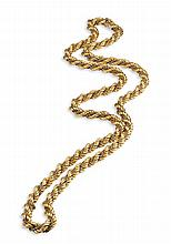 Italian 18ct gold necklace