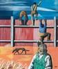 Peter Clarke    The Fence, Peter E. Clarke, R0