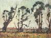 Piet (Pieter Gerhardus) van Heerden    Windswept Trees, Pieter Gerhardus