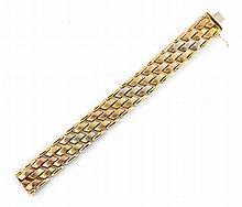 Italian 18ct gold bracelet